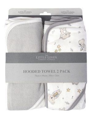 Cheeky Koala Hooded Towels - Little Linen