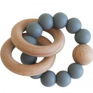 Beechwood Teething Ring - Alimrose