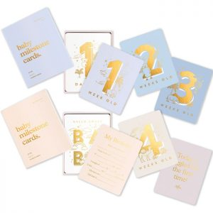 Baby Milestone Cards Two Colours - Fox & Fallow